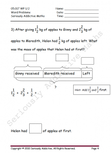 worksheet experience  seriously addictive mathematics the worksheet experience engages each student individually in their own  designated time for study at home this regime instills self discipline and